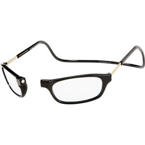 59b89543fd25 Image is loading MAGNETIC-FRONT-Reader-Glasses-CliC-Clickit-Clicker-Snap-