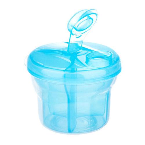 Milk Powder Dispenser 3 Dose of Baby Feeding Formula Storage Pot Magic