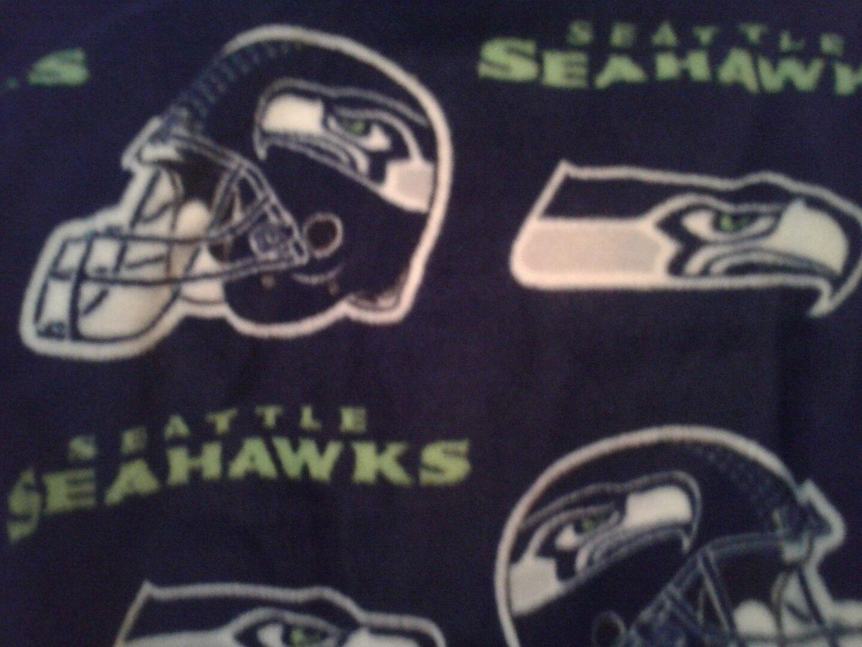 Seattle Seahawks  personalized fleece   blanket  lg 45x60