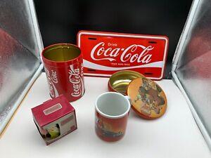 Coca-Cola-Collector-Convolute-5-Pieces-Very-Good-Condition