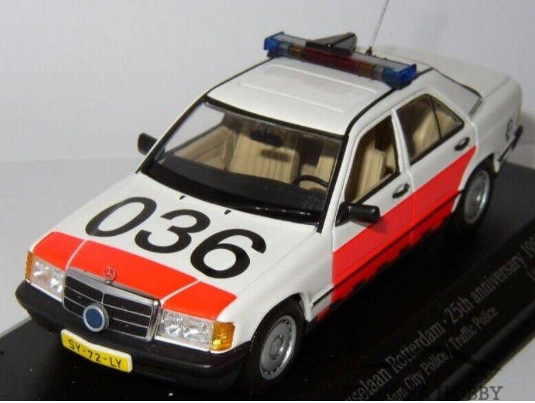 Mercedes 190E (1988) - Rotterdam Police  (POLITIE) by MINICHAMPS