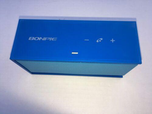 10w SPEAKER Bluetooth Wireless Universal Loud Bass Mic Handsfree AUX BLUE
