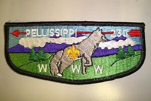 OA-PELLISSIPPI-LODGE-230-GREAT-SMOKEY-MOUNTAINS-COUNCIL-PATCH-FOX-SERVICE-FLAP