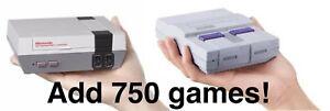 NES-SNES-Classic-Mini-Mod-SERVICE-Nintendo-ADD-EXTRA-GAMES
