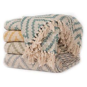 Comercio-Justo-Sofa-Sillon-Sofa-De-Algodon-Zigzag-125x150cm-Colcha-Manta-Cobertor