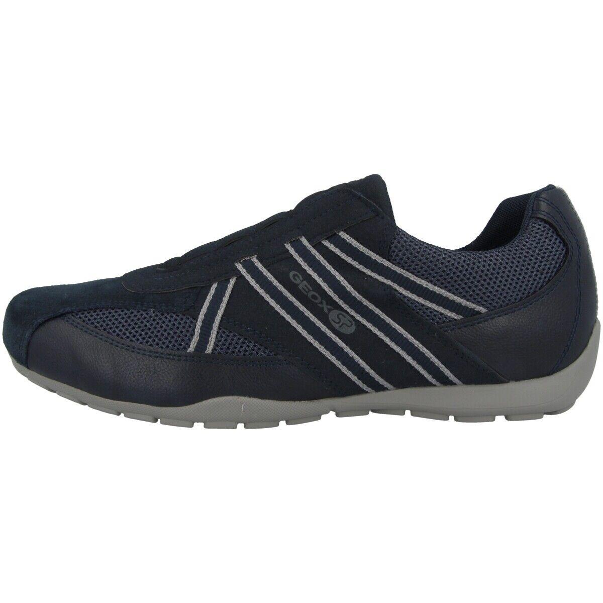 Geox u ravex C zapatos zapatillas casual zapato bajo mocasines Navy u923fc0au14c4002