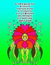 Bloemen Having Fun Kleurboek Eenvoudig Niveau Voor Kinderen Voor Volwassenen...