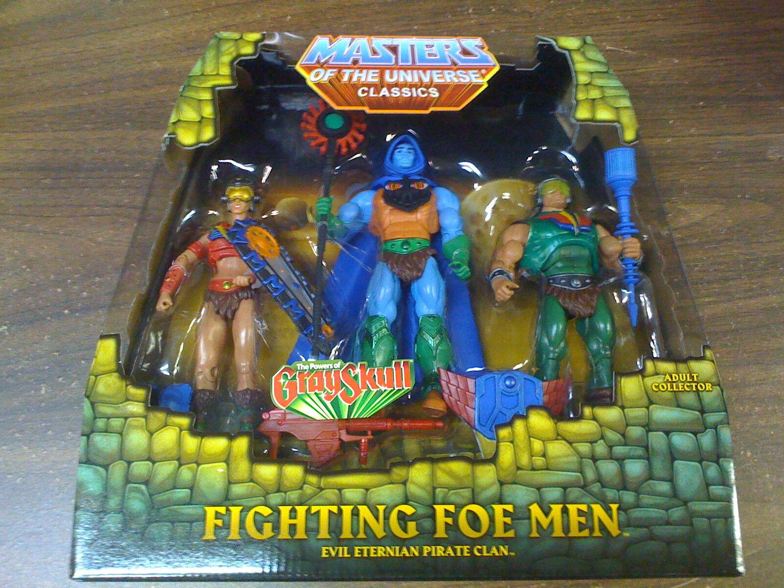 MOTU Classics Fighting Foe Men™ 3-Pack Figures FREE SHIP US  NEW Wordwide