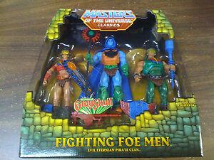 Lot de 3 figurines Motu Classics Fighting Foe Men ™ Livraison gratuite avec nous Nouveau