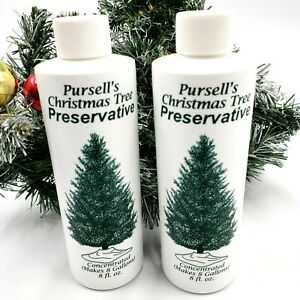Pursell's Christmas Tree Preservative 8 oz Makes 8 Gallons ...