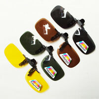 Polarized Sunglasses Clip on for Myopia for Day/Night Sports/Driving