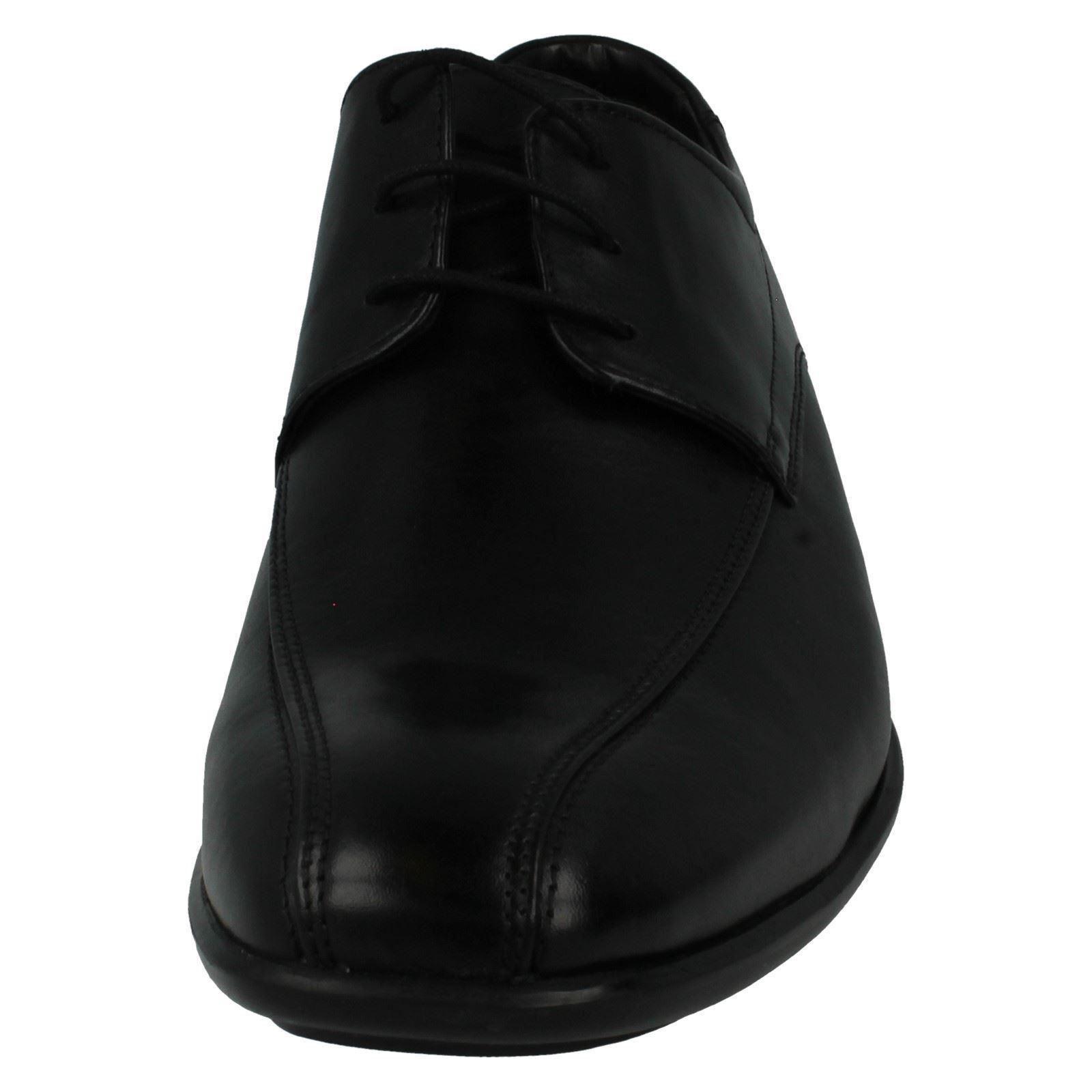 Herren schwarze CLARKS schwarze Herren Lederschuhe - gadwell über 4698e4