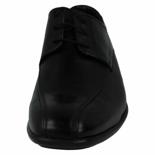 Zapatos Sobre Clarks Gadwell Piel Negros De Hombre 65pn4qRww
