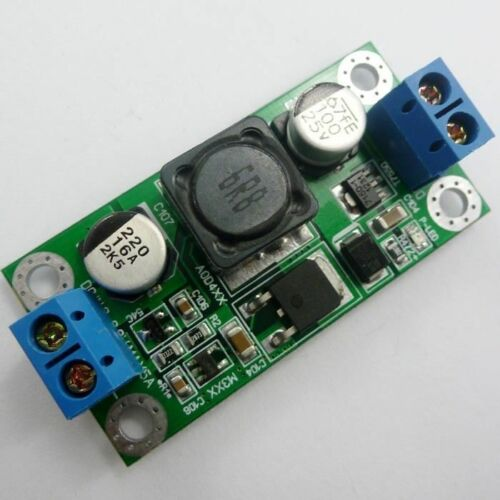 30W DC 5V to 12V Step Up Boost Power Converter LED Motor USB Solar Charger L30