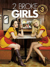 2 Broke Girls ~ Complete 3rd Third Season BRAND NEW 3-DISC DVD SET FREE SHIPPING