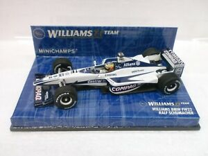 MINICHAMPS-1-43-F1-WILLIAMS-BMW-FW22-R-SCHUMACHER