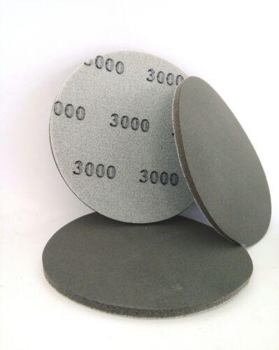 DISCO DA FINITURA CON SPUGNA P2000 DIAMETRO 150mm X CARTEGGIATURA AD UMIDO 1 PZ
