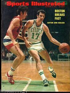 Sports-Illustrated-1972-Boston-Celtics-John-Havlicek-No-Label-Excellent
