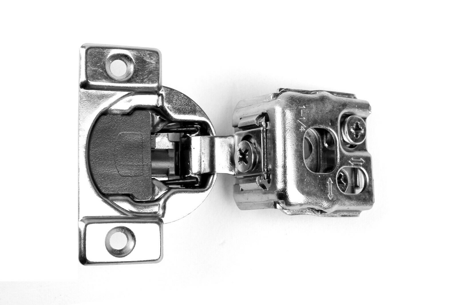 1-1 4  Overlay Compact Soft Close Cabinet Hinge Face Frame 105 Degree Hinge (60)