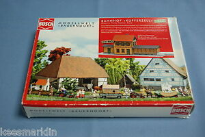 Busch-1468-Historic-Train-Station-034-Bahnhof-Kupferzell-034-HO-scale
