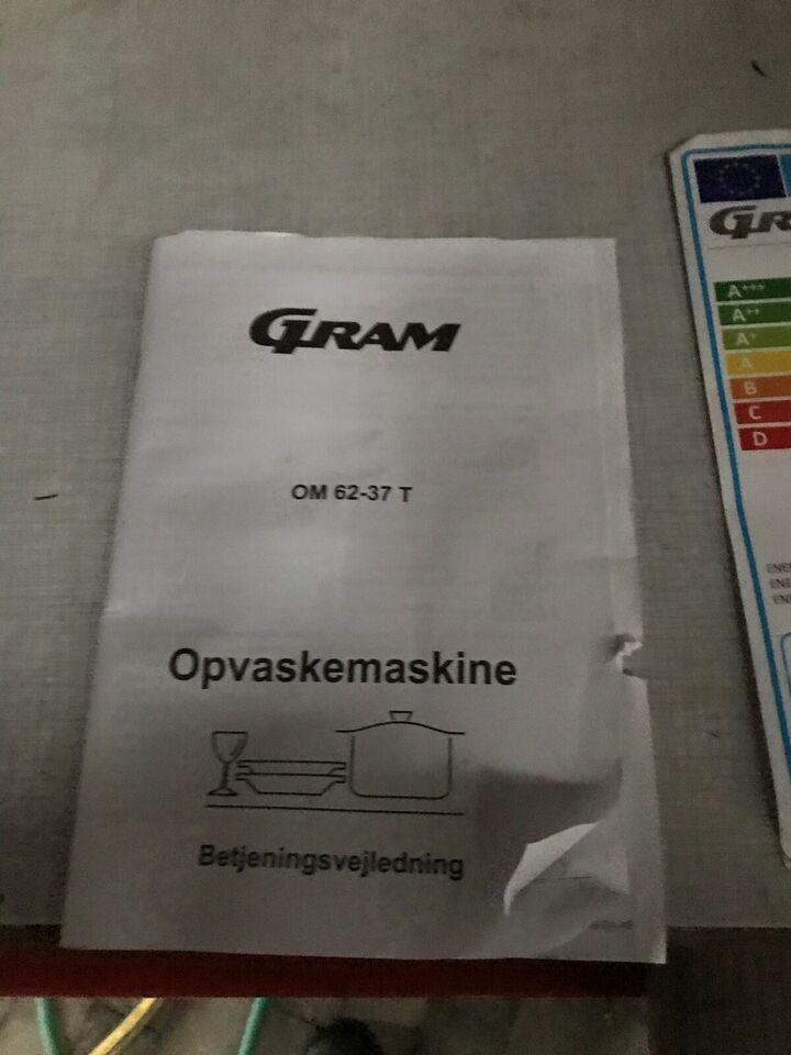 Opvaskemaskine Gram