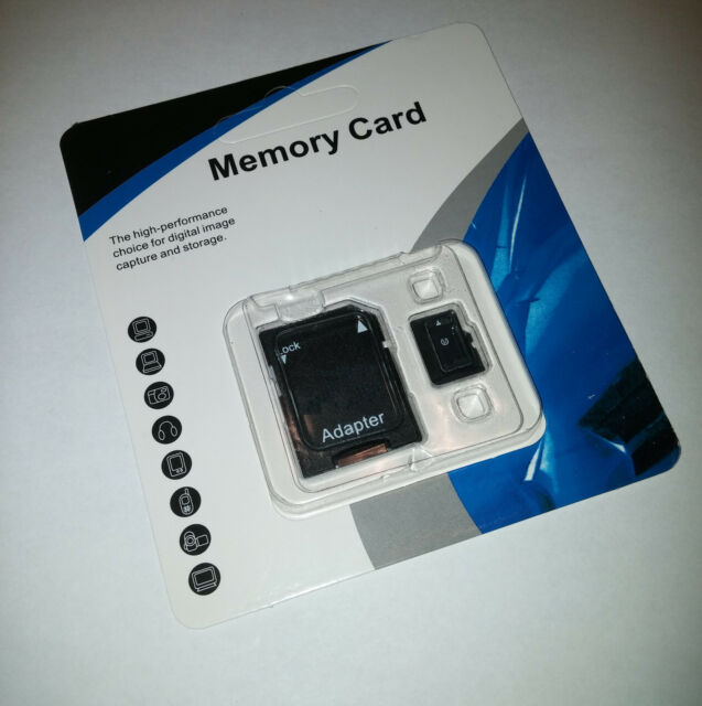 256GB Micro SD SDHC SDXC TF Flash Memory Card Class 10 For Cell Phone Camera MP3