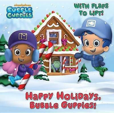 1 of 1 - Happy Holidays, Bubble Guppies! (Bubble Guppies) (Pictureback with-ExLibrary