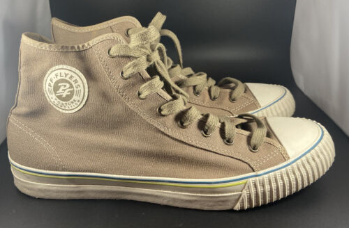 PF Flyers Mens Suede Sneakers Size 11.5 High Top O