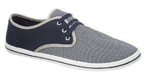 Dek Morris 3 Ojo Corbata De Ocio Casual Zapatos De Lona Verano Textil inteligente