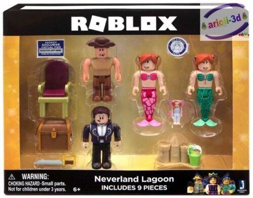 TOP ROBLOX NEVERLAMD LAGOON  SERIES 1 Action Figure Core Figure New 7cm 9pcs