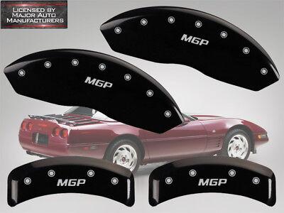 Red with Silver MGP Caliper Covers 1988-1996 C4 Corvette Brake Caliper Covers