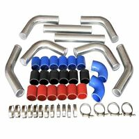 3 Universal Turbo Supercharger Intercooler Piping Kit