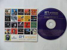 CD compil 21 titres DEGUELT BOURVIL GRIBOUILLE JEANMAIRE LASSO TRIANGLE 002074