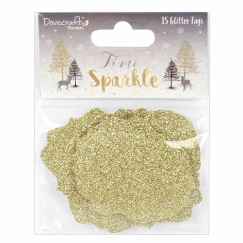 Dovecraft prime time to Sparkle Noël Collection-Glitter balises