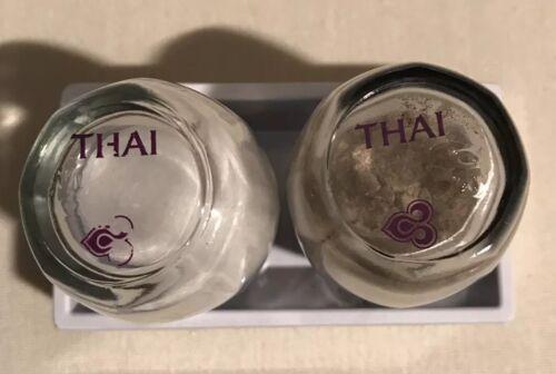 Thai Airways Business Class Salt /& Pepper Set