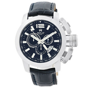 Metal.CH Chronometrie Chrono Series Mens Chronograph Swiss Made Watch 2153.44