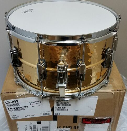 HARD CASE Authorized Dealer Ludwig 14x8 Bronze MAKE OFFER Phonic Hammered Snare