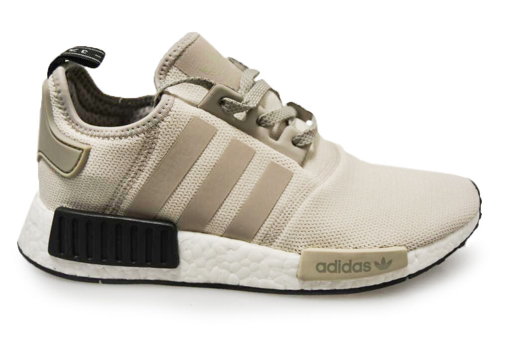 HOMMES ADIDAS NMD_R1 NMD R1 - s76848 - Beige Baskets noires