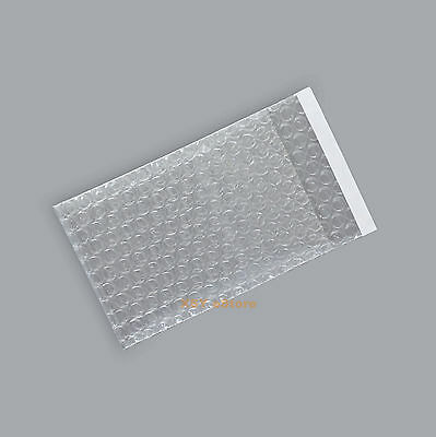 """15 Clear Plastic Bubble Cushioning Packing Pouches Bag 3"""" x 5""""_8 x 13+2cm"""