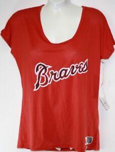 New 47 Brand MLB Philadelphia Phillies Batter Up Womens Baseball Tee Shirt