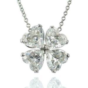 GOLD Key pendant 14k heart LOVE clover luck simulated diamond charm