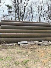 30 Steel Pipe Drain Pipe Culvertwater Line 320 Wall 500 Feet Item 138