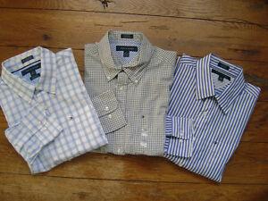 86d1e7d0 New NWT TOMMY HILFIGER LS Mens Dress Shirt Oxford Custom Slim Fit ...