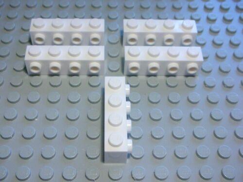 355 Lego Stein mit Querknopf 1x4 Weiss 5 Stück