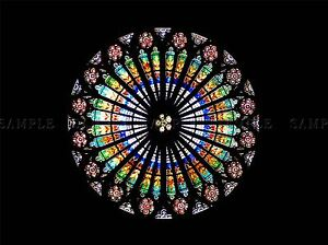 STRASBOURG-CATHEDRAL-FRANCE-STAINED-GLASS-PHOTO-ART-PRINT-POSTER-BMP1933A