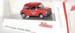 Schuco-452016300-Mini-Cooper-Salon-de-Jouets-Nuremberg-2018-1-64-Neuf-Ovp
