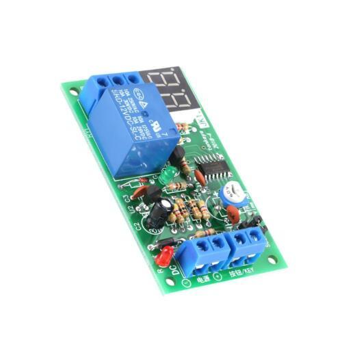 DC 12V LED Display Countdown Verzögerung Schalter Zeitrelais Timer Relay Module☜