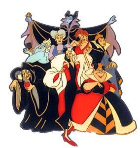 Cruella Malificent Disney Character Cuties Buttons Disney Villains Buttons Disney Buttons Set with Shanks Ursula