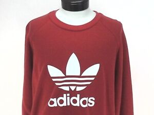 Adidas Trefoil Warm Up Sweatshirt Men flash orange white