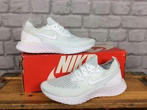 scarpe Eu Rrp React £ Epic ginnastica Flyknit White da 39 Ladies 5 Nike 5 130 Uk BqBvIRO